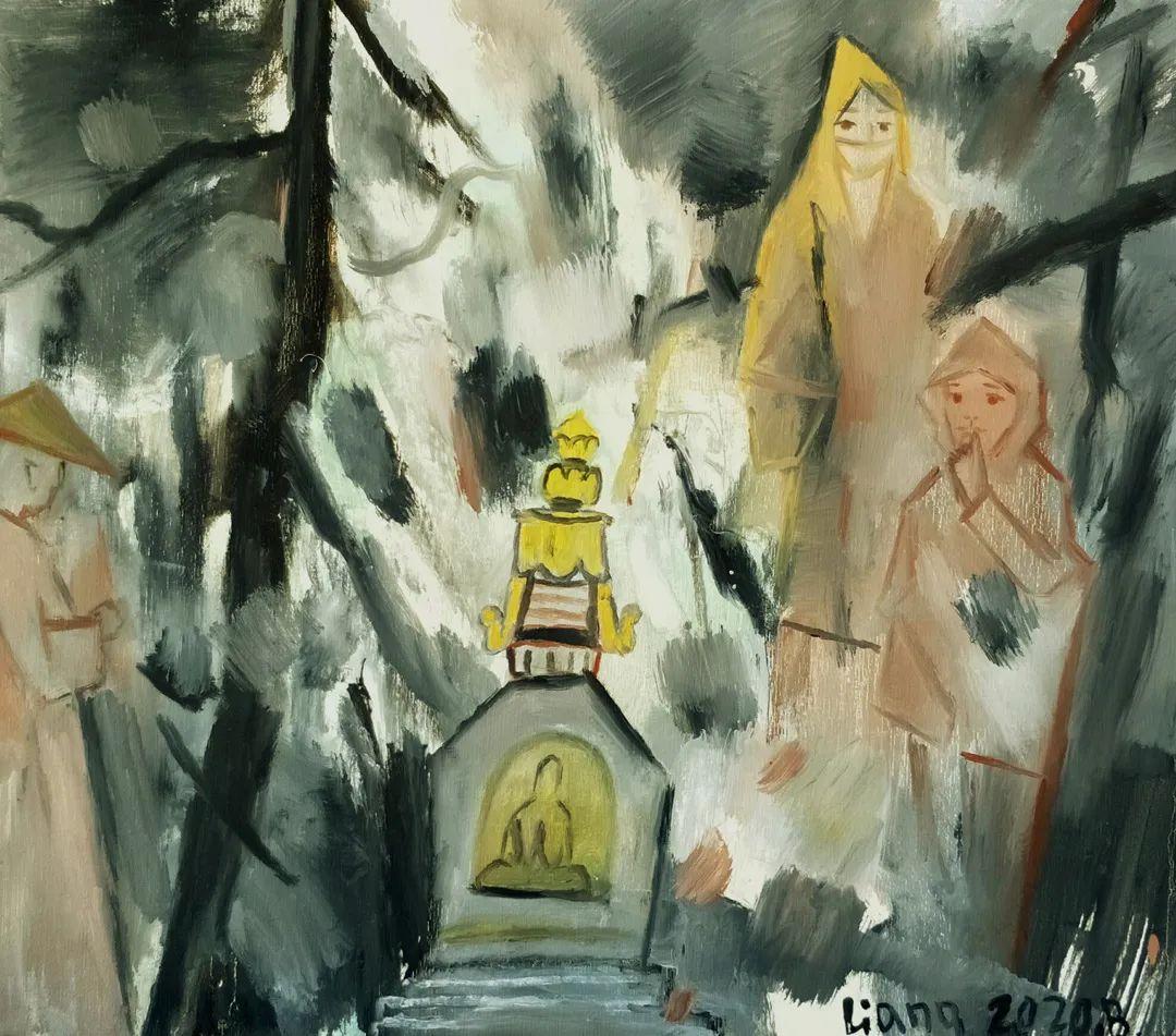 中国当代绘画艺术展作品欣赏之 梁智龙插图15