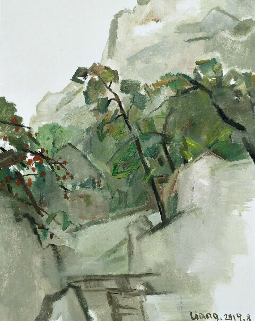 中国当代绘画艺术展作品欣赏之 梁智龙插图23