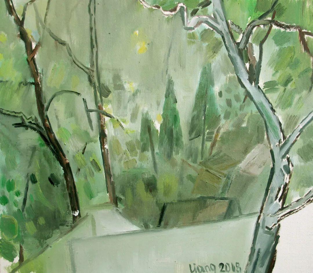中国当代绘画艺术展作品欣赏之 梁智龙插图27