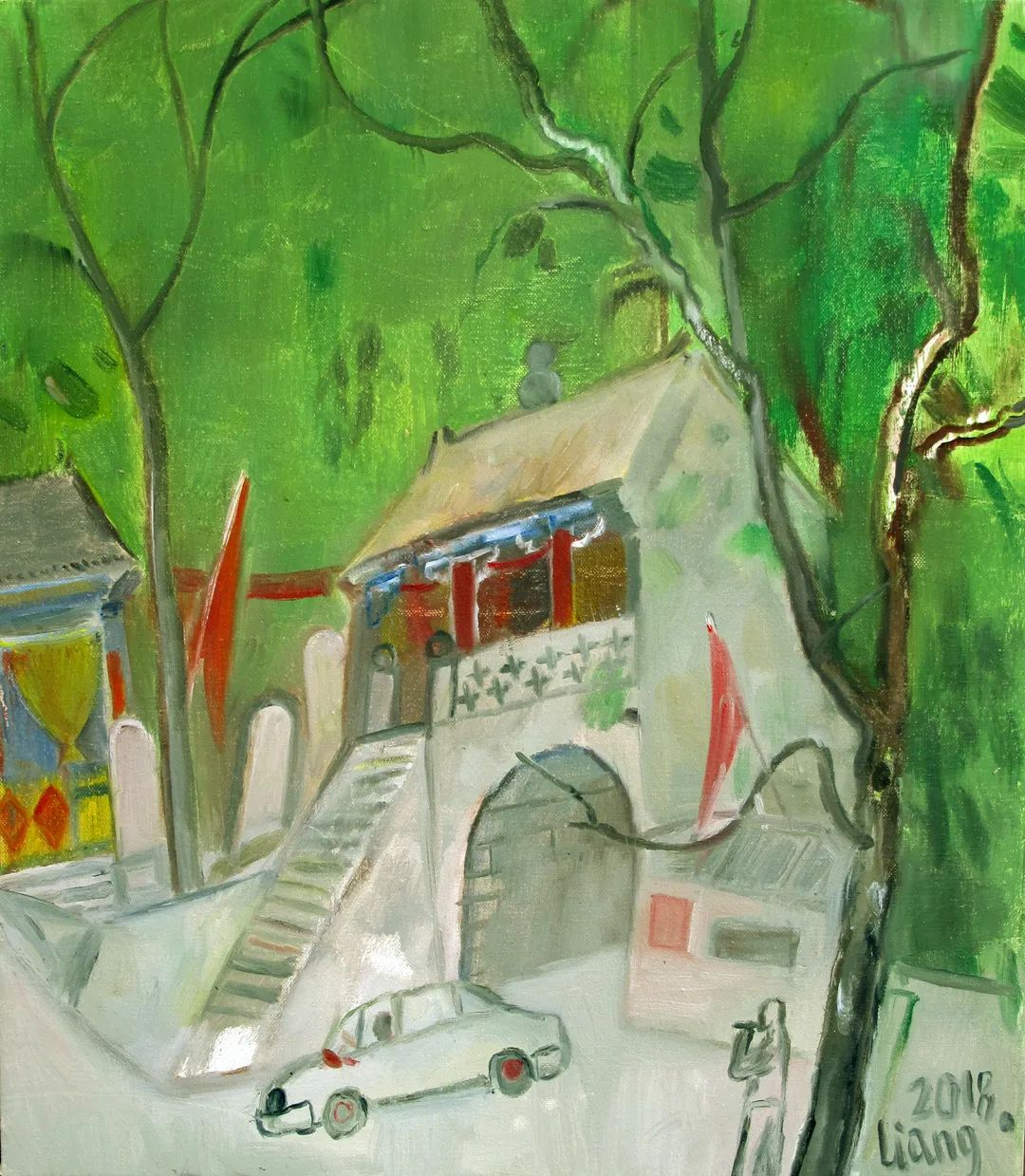 中国当代绘画艺术展作品欣赏之 梁智龙插图29