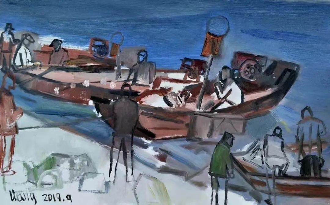 中国当代绘画艺术展作品欣赏之 梁智龙插图33