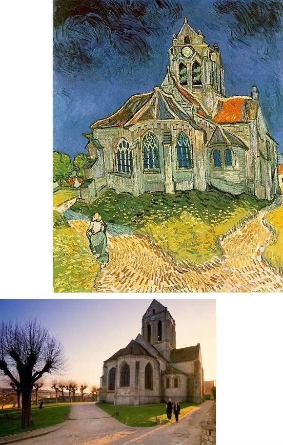 原来莫奈梵高塞尚画的是这里……插图27