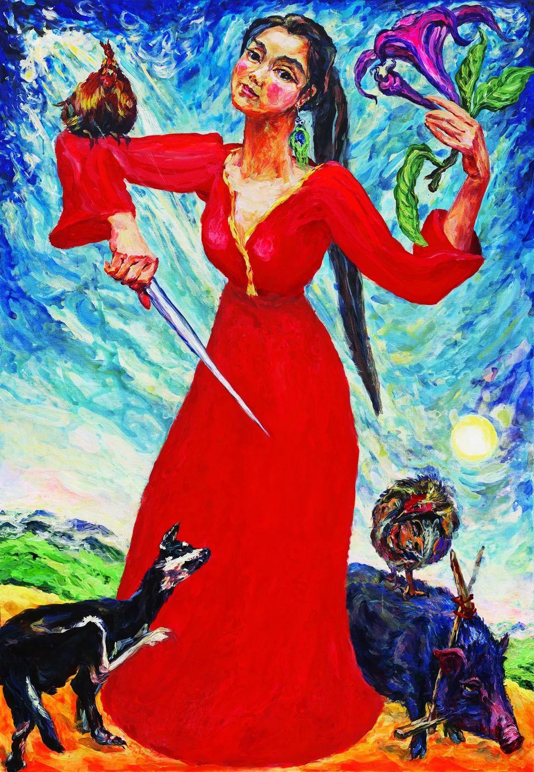 中国当代绘画艺术展作品欣赏之 卢云插图23