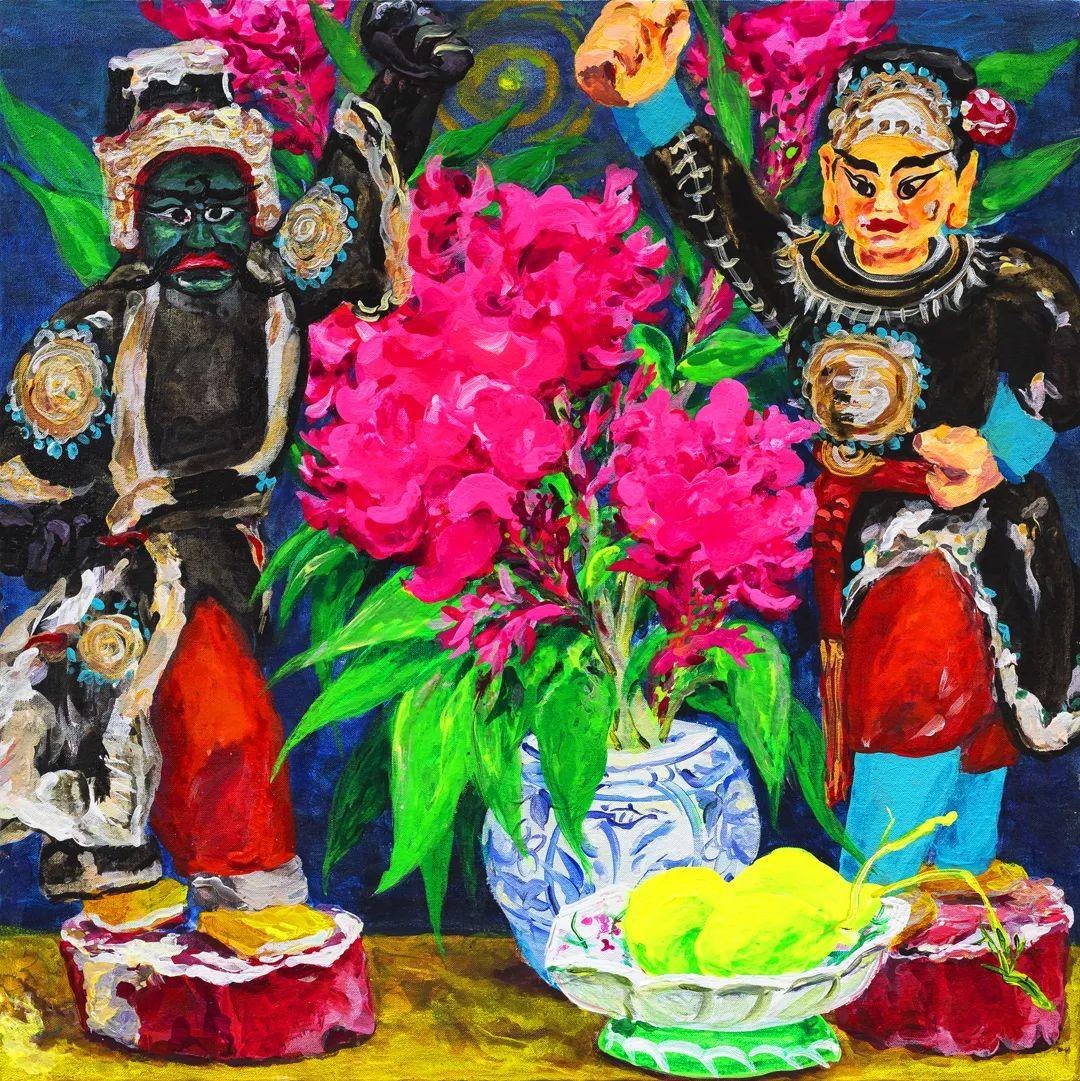 中国当代绘画艺术展作品欣赏之 卢云插图31
