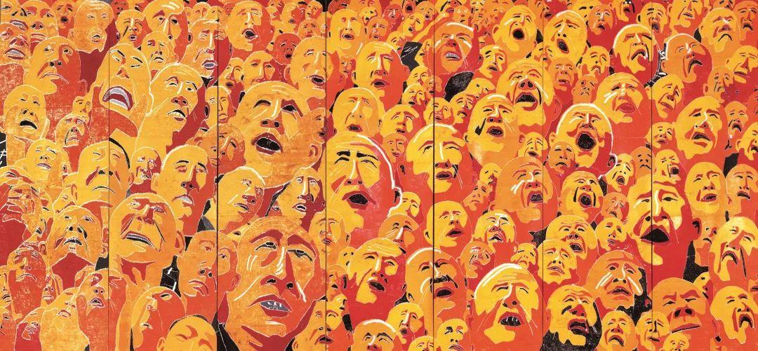 中国当代绘画艺术展作品欣赏之 方力钧插图13