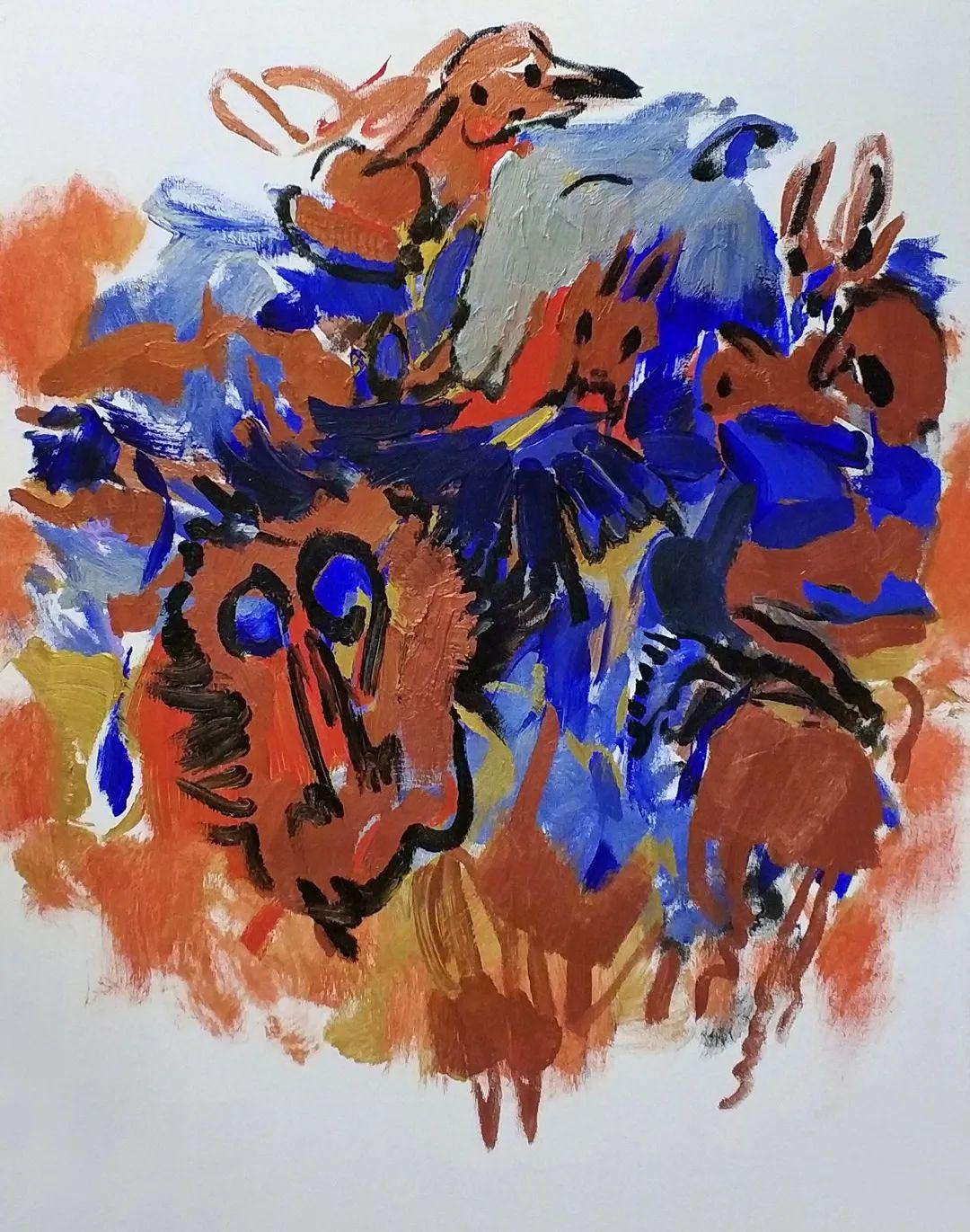 中国当代绘画艺术展作品欣赏之 马壮插图21