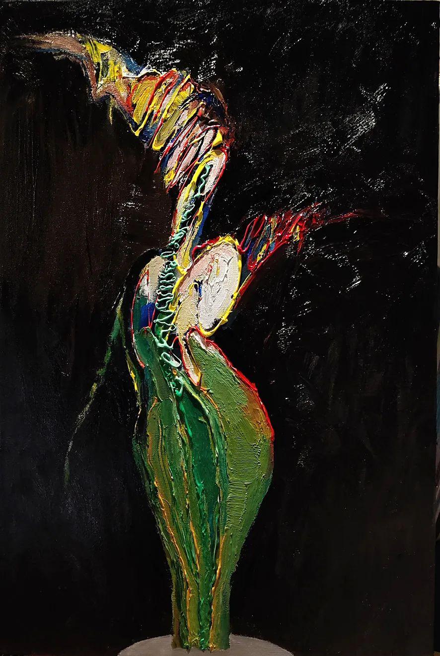 中国当代绘画艺术展作品欣赏之 马壮插图27