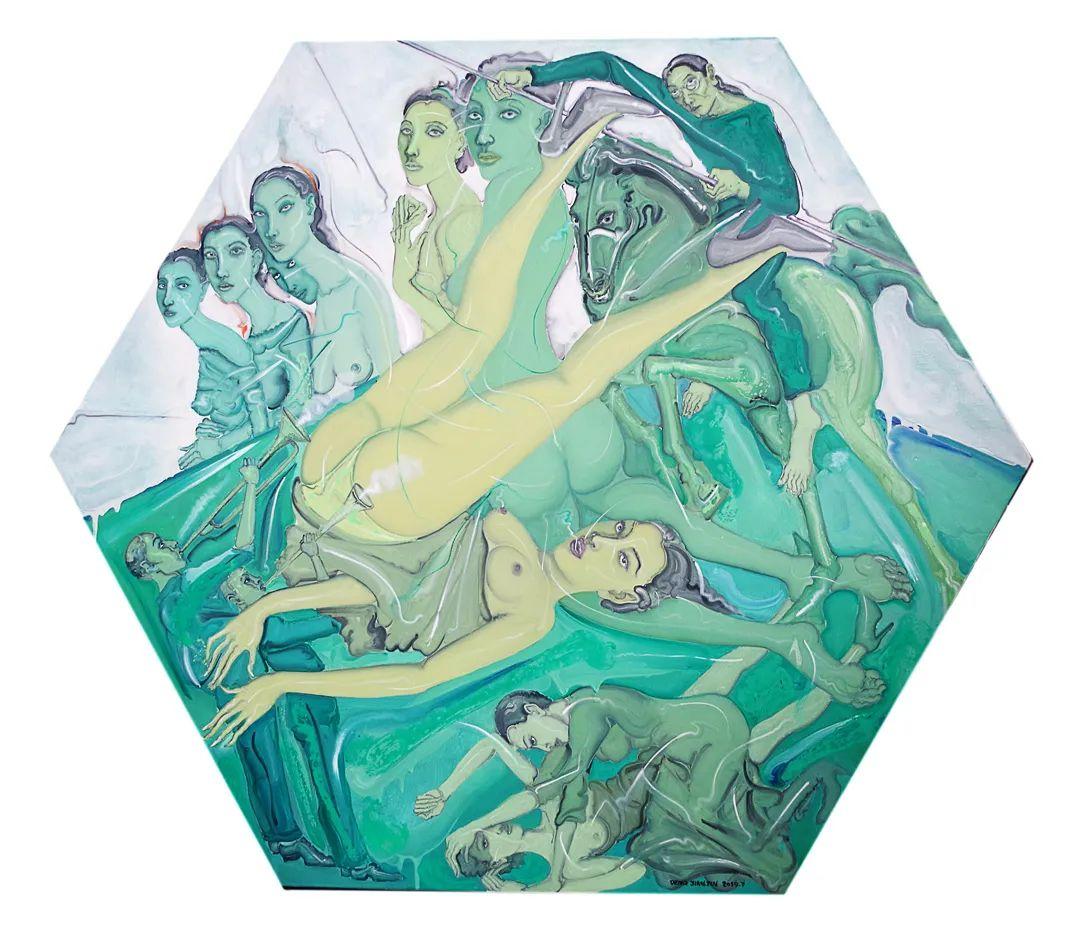 中国当代绘画艺术展作品欣赏之 邓箭今插图17