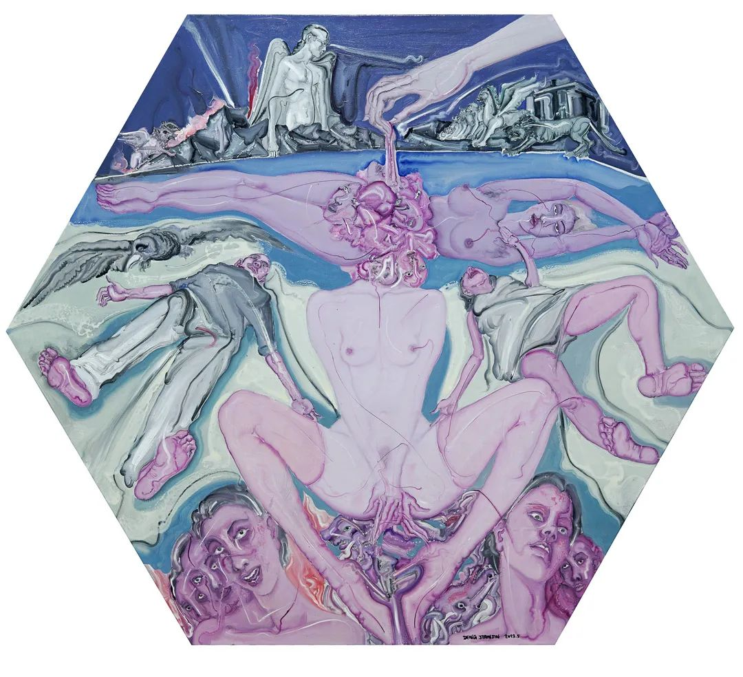 中国当代绘画艺术展作品欣赏之 邓箭今插图19