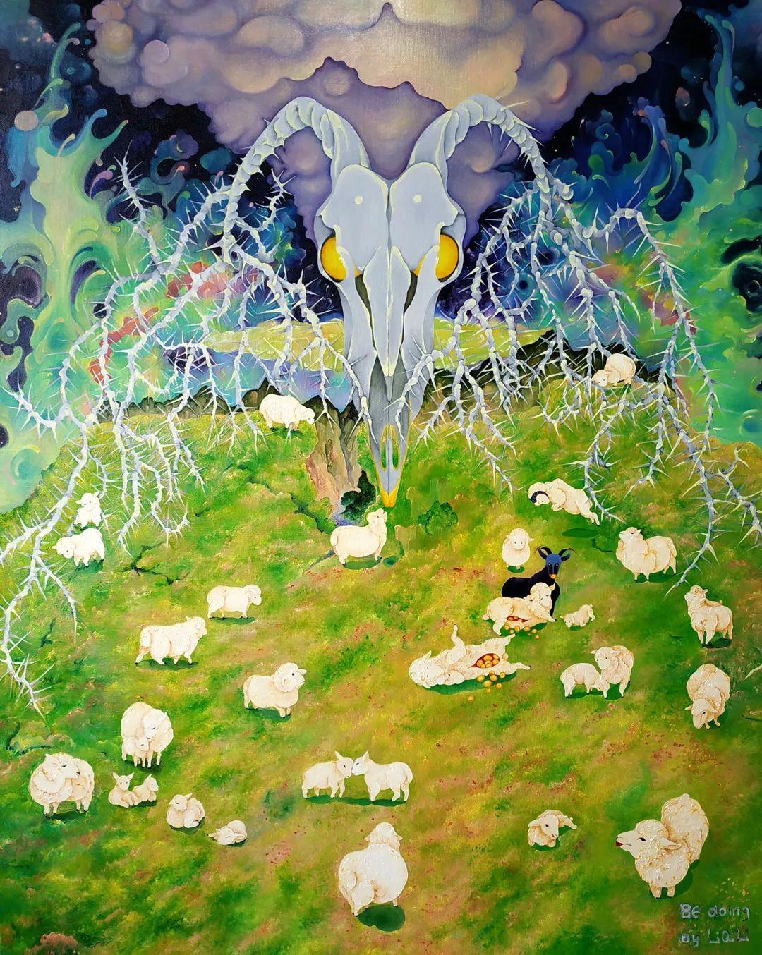 中国当代绘画艺术展作品欣赏之 李琪莉插图5