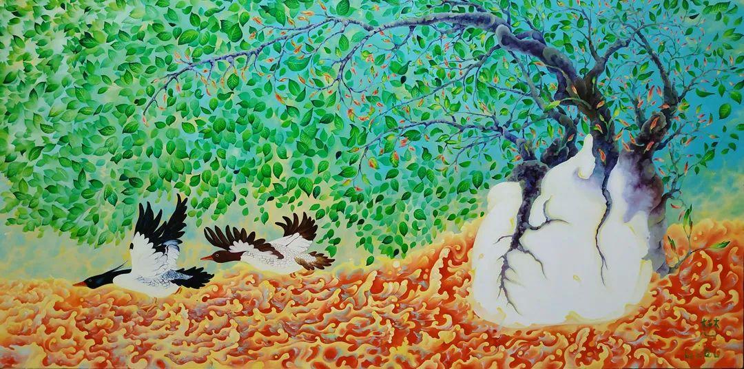 中国当代绘画艺术展作品欣赏之 李琪莉插图15