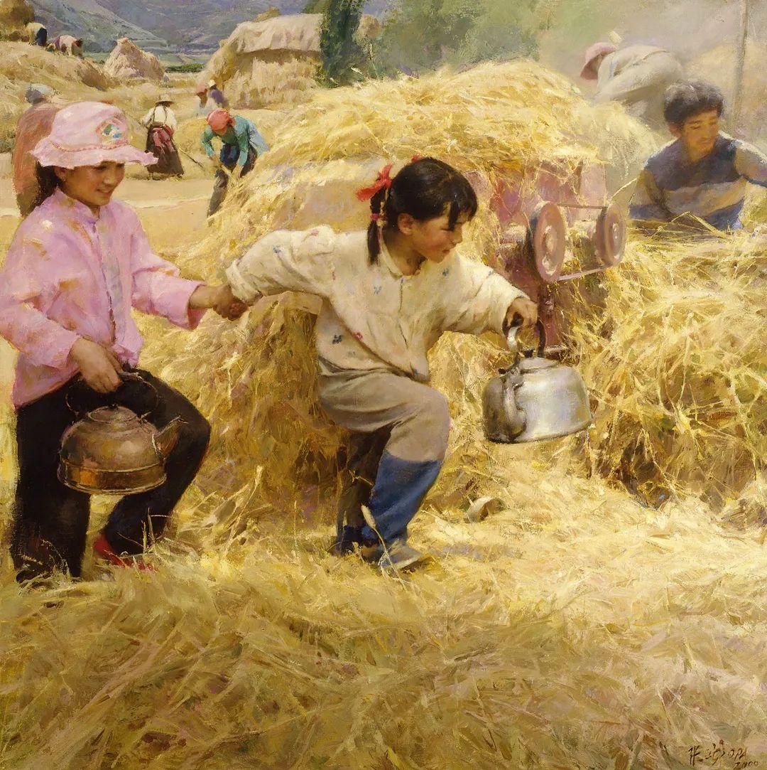 中国当代绘画艺术展作品欣赏之 张文新插图1
