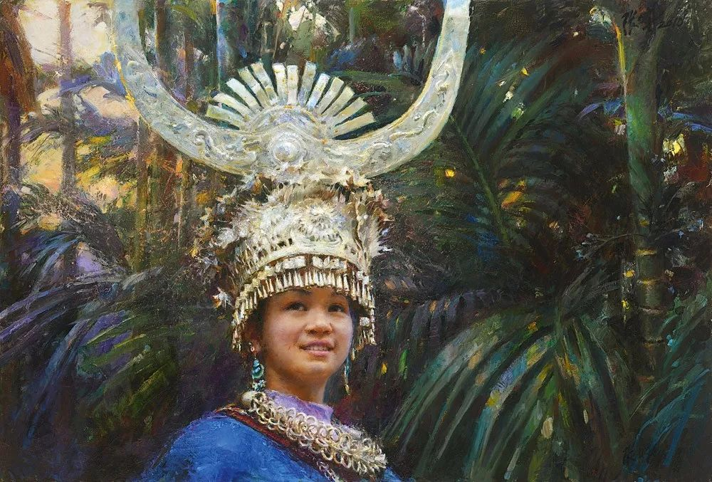 中国当代绘画艺术展作品欣赏之 张文新插图5