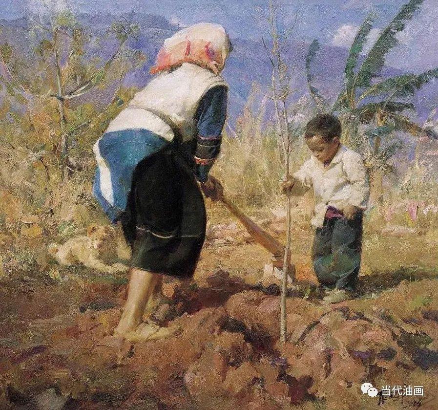 中国当代绘画艺术展作品欣赏之 张文新插图21
