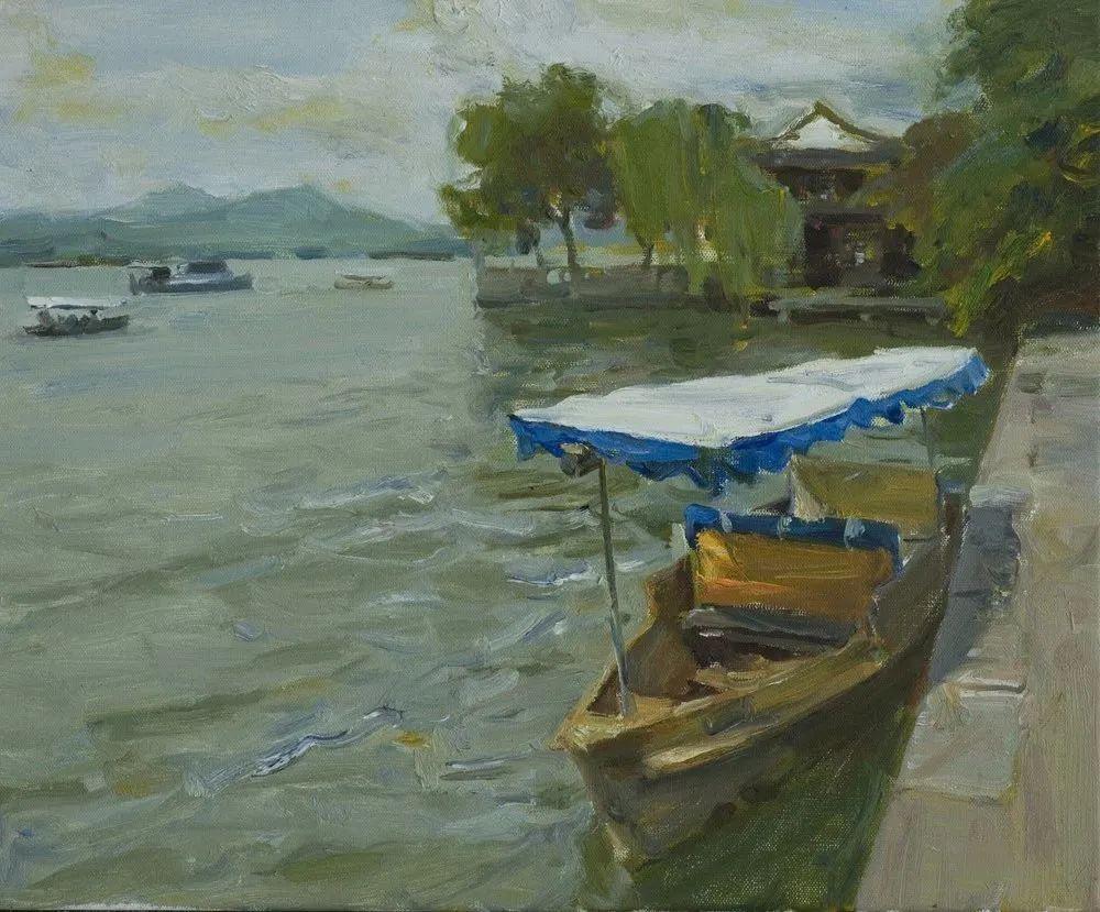中国当代绘画艺术展作品欣赏之 何红舟插图25