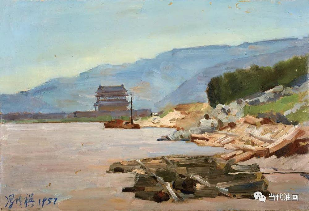 中国当代绘画艺术展作品欣赏之 冯法祀插图23