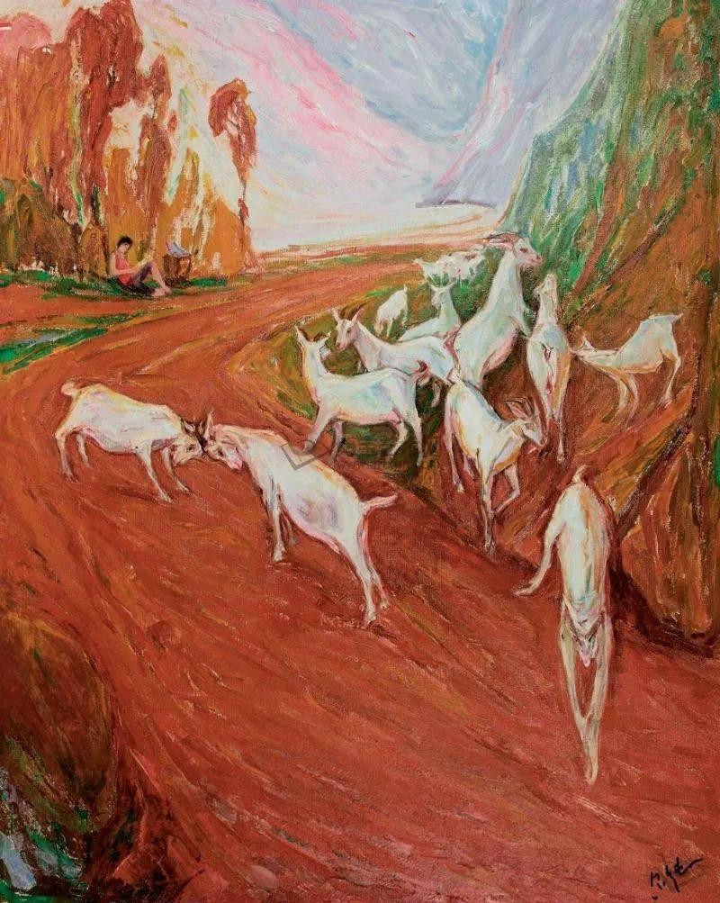 中国当代绘画艺术展作品欣赏之 罗尔纯插图59