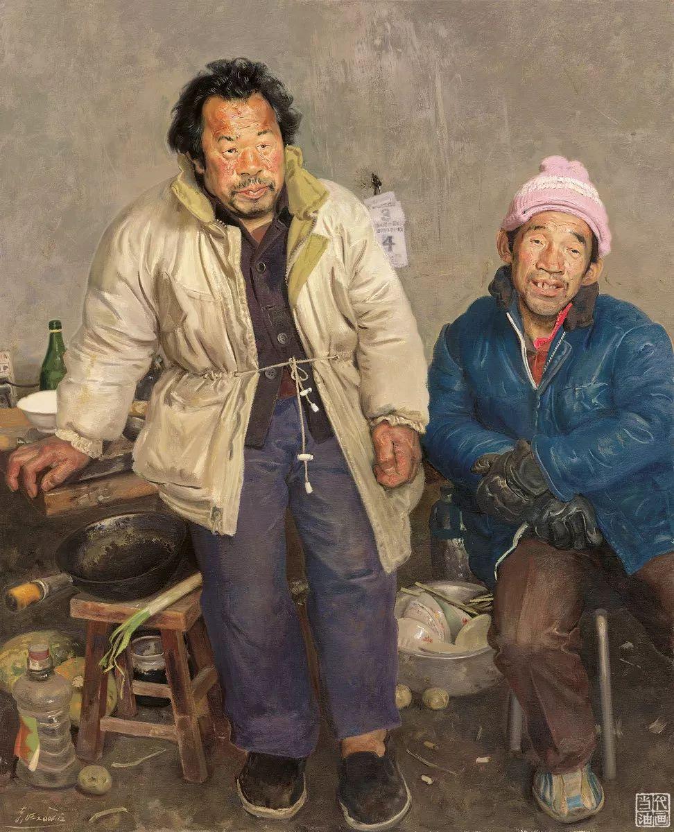 中国当代绘画艺术展作品欣赏之 忻东旺插图9