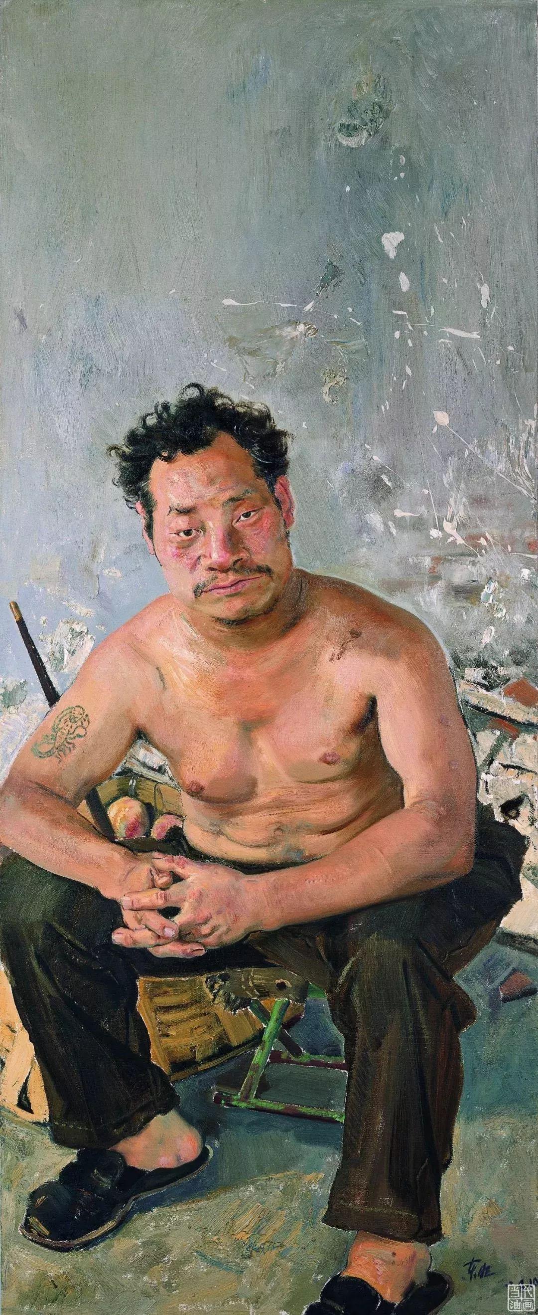 中国当代绘画艺术展作品欣赏之 忻东旺插图15