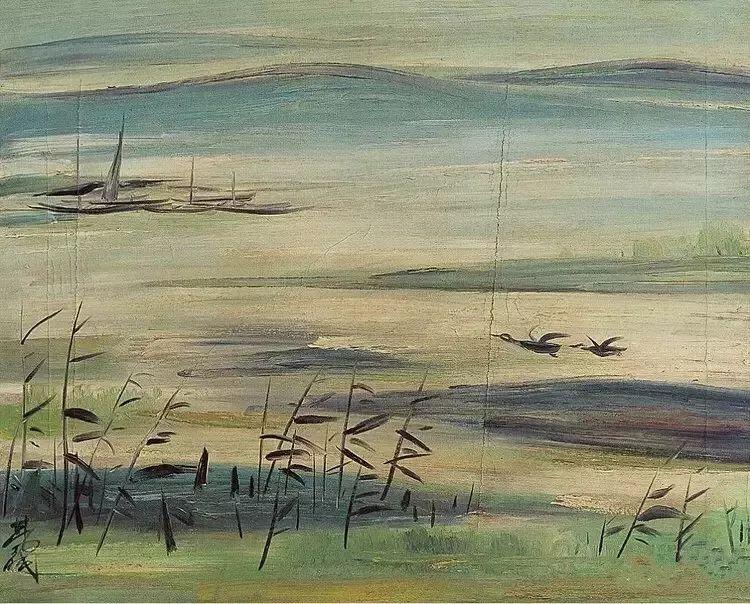 中国当代绘画艺术展作品欣赏之 林风眠插图3