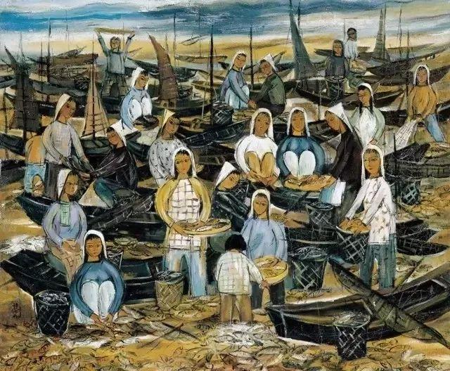 中国当代绘画艺术展作品欣赏之 林风眠插图5