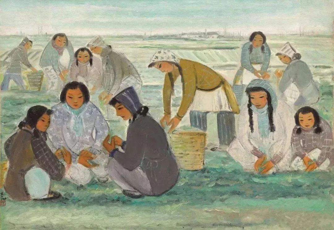 中国当代绘画艺术展作品欣赏之 林风眠插图9