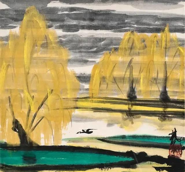 中国当代绘画艺术展作品欣赏之 林风眠插图24