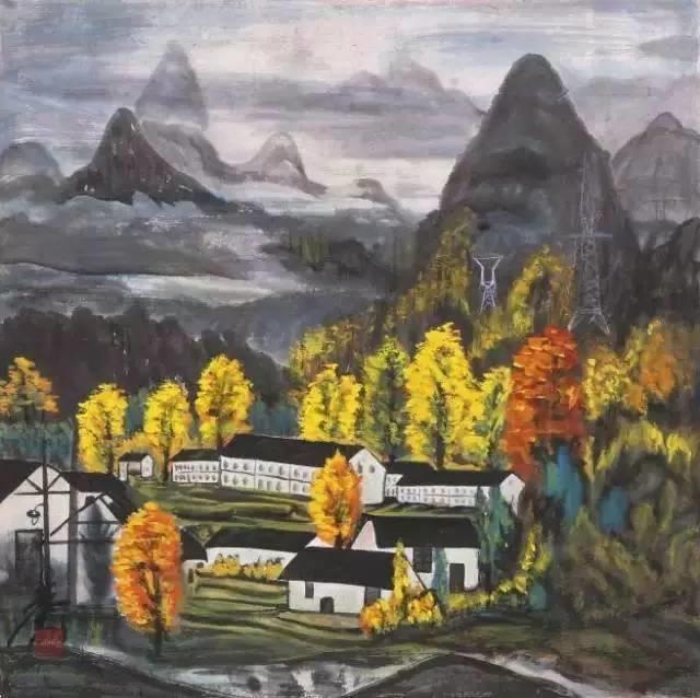 中国当代绘画艺术展作品欣赏之 林风眠插图26