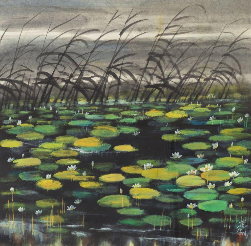 中国当代绘画艺术展作品欣赏之 林风眠插图28