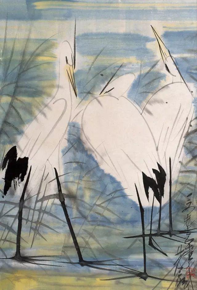 中国当代绘画艺术展作品欣赏之 林风眠插图42