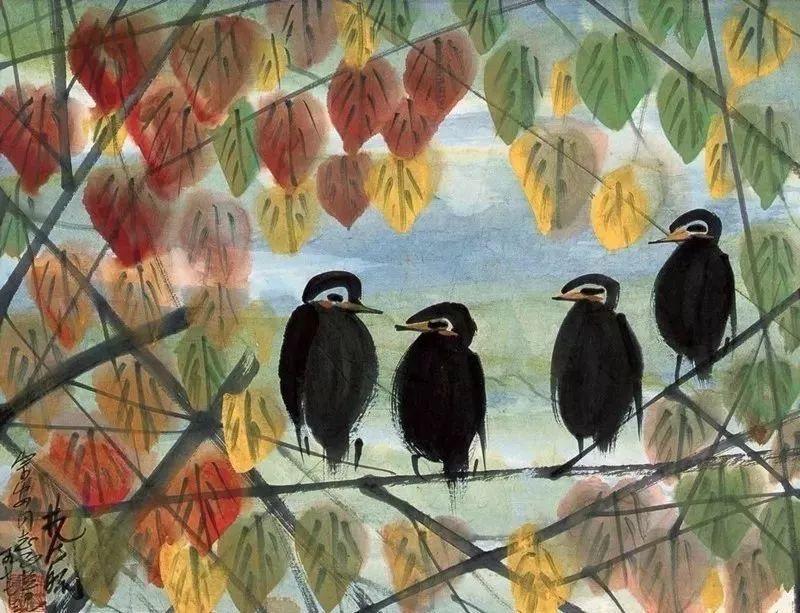 中国当代绘画艺术展作品欣赏之 林风眠插图46