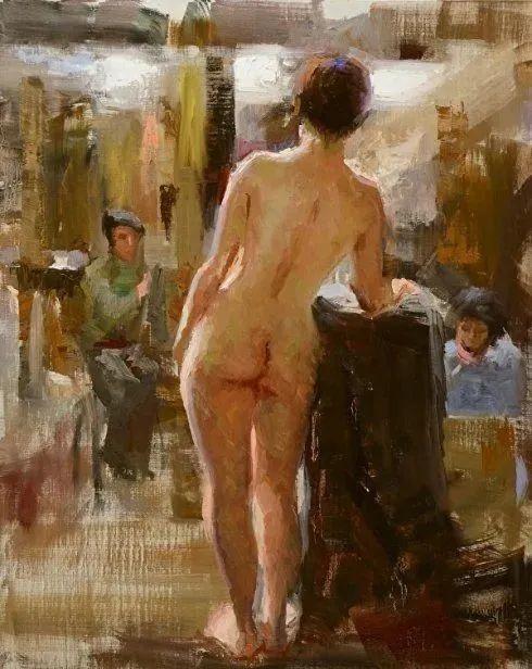 美国画家威廉·A·施耐德人体油画作品,风情万种插图33