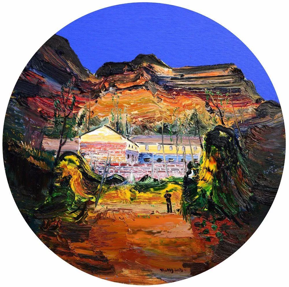 中国当代绘画艺术展作品欣赏之 孟新宇插图9