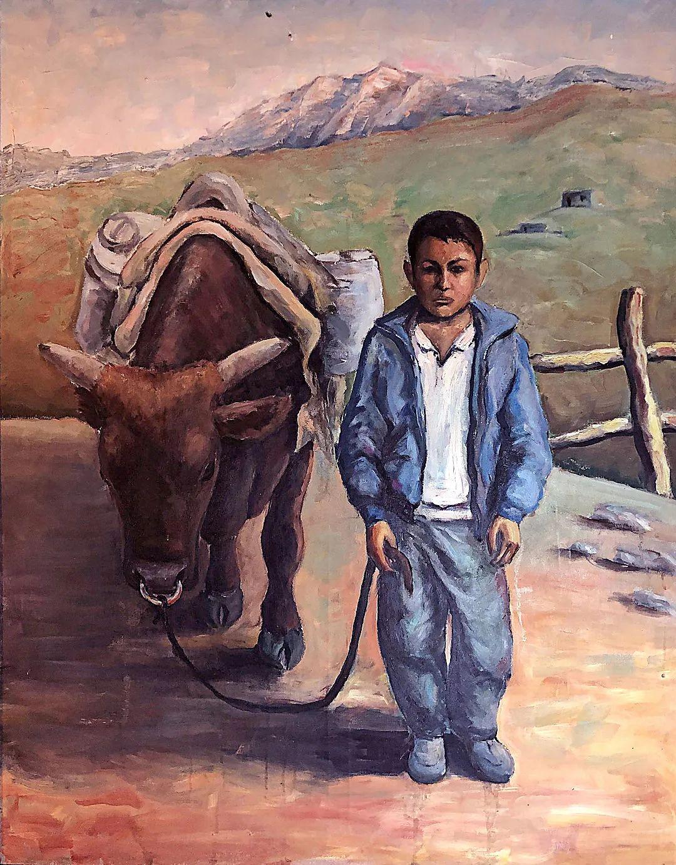 中国当代绘画艺术展作品欣赏之 海拉提 · 卡合尔插图23