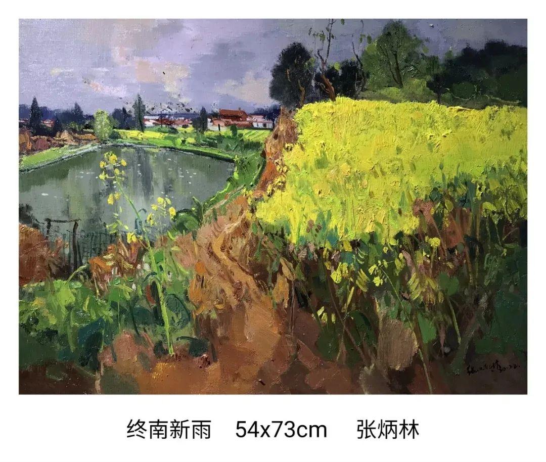 画家张炳林作品欣赏!插图19