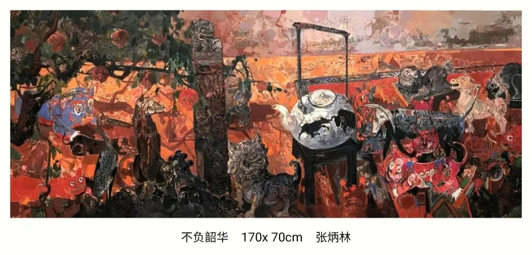 画家张炳林作品欣赏!插图48