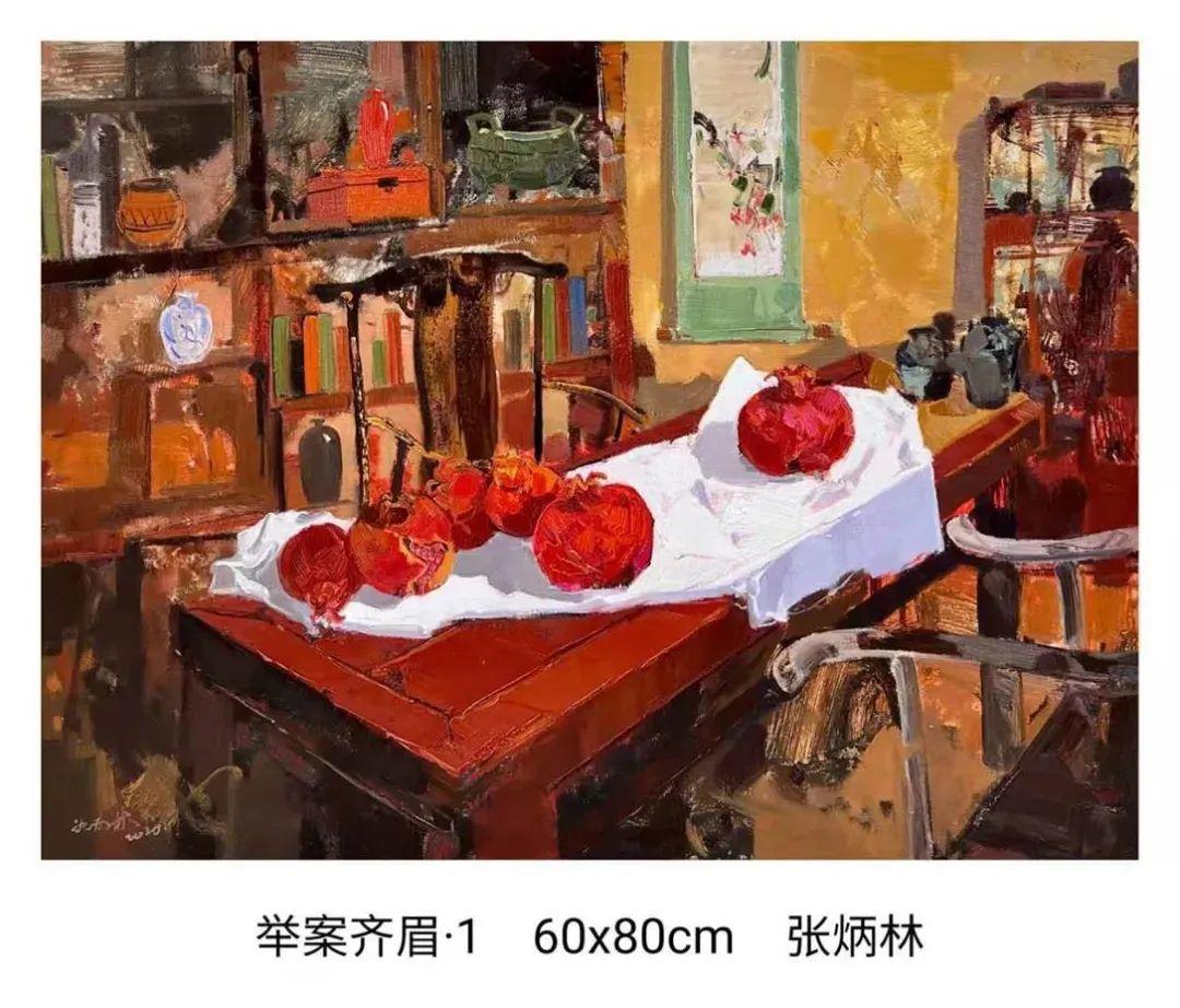 画家张炳林作品欣赏!插图50