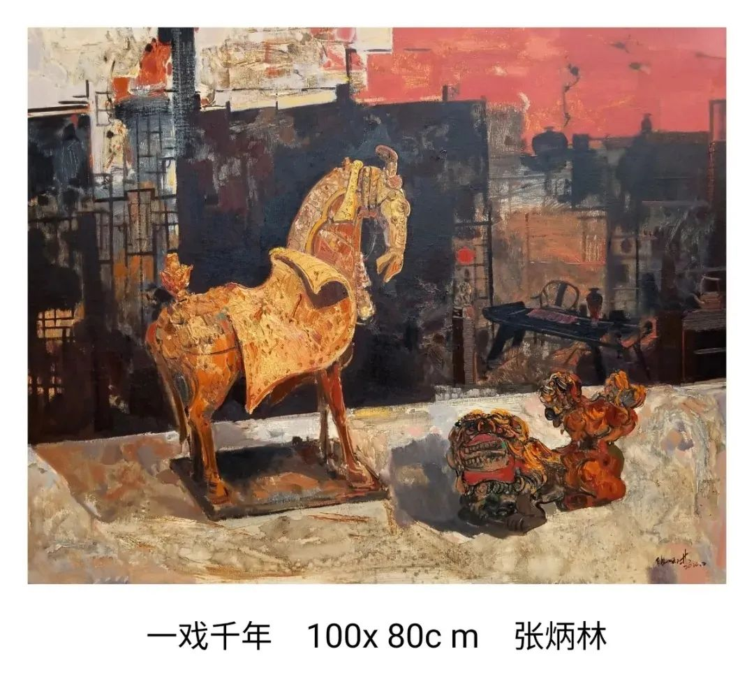 画家张炳林作品欣赏!插图53