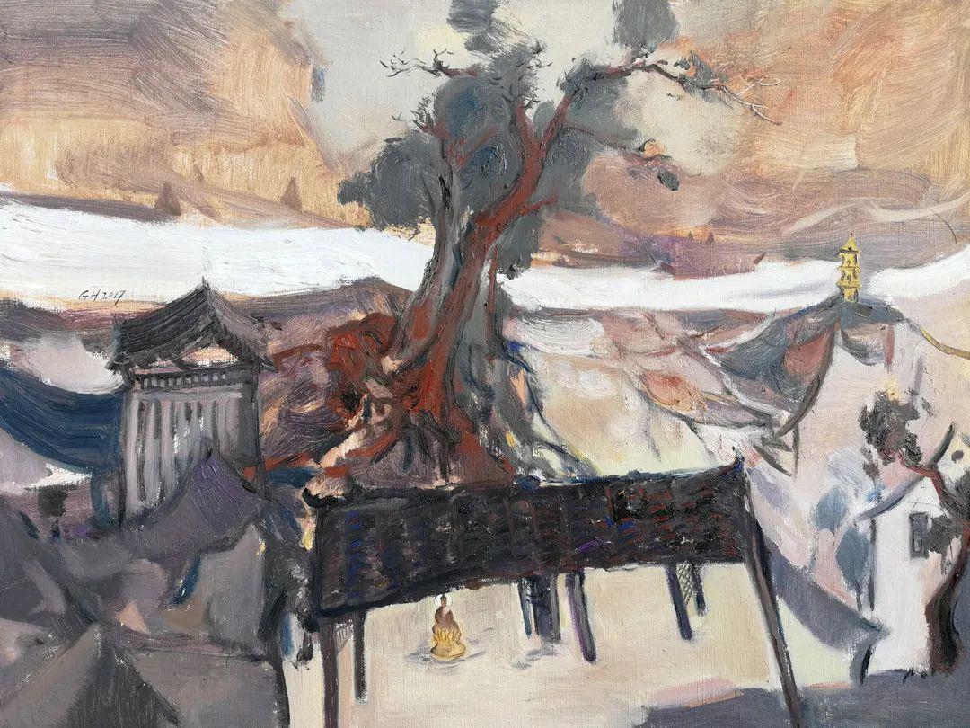 中国当代绘画艺术展作品欣赏之 陈国煌插图9