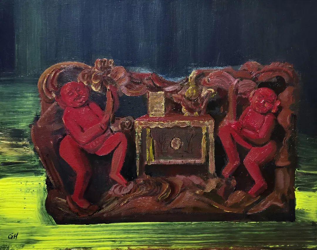 中国当代绘画艺术展作品欣赏之 陈国煌插图21