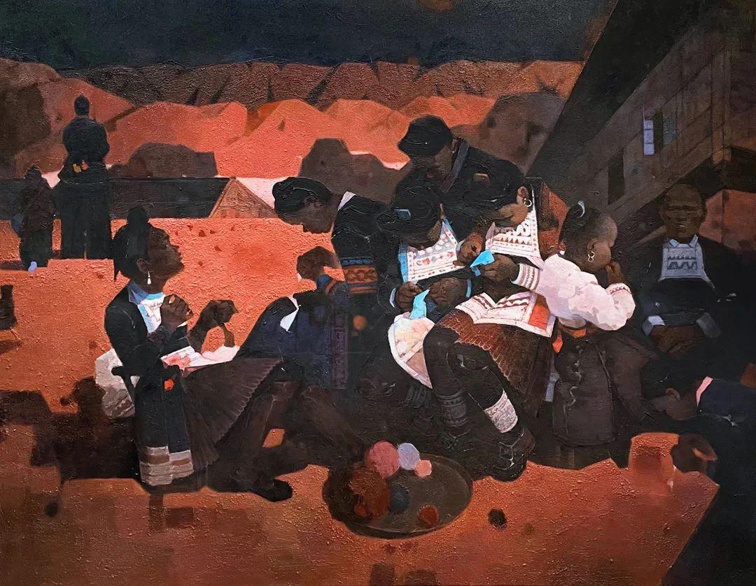 中国当代绘画艺术展作品欣赏之 潘建军插图1