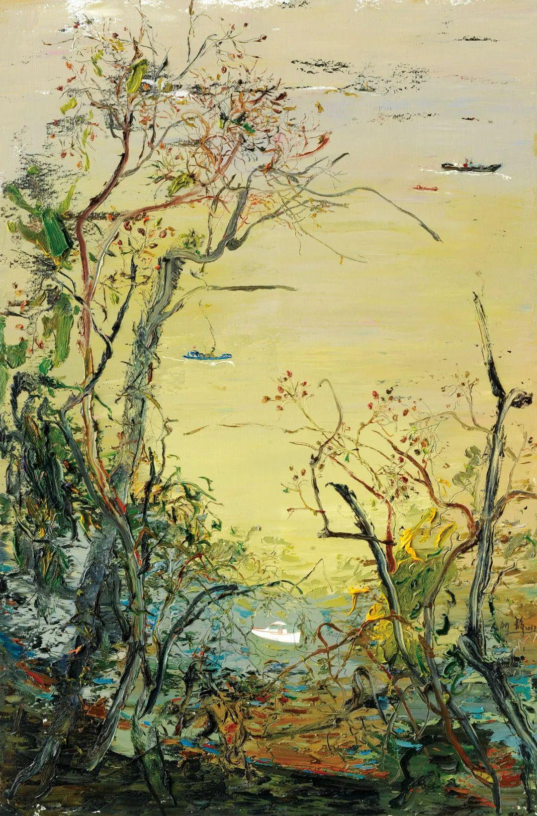中国当代绘画艺术展作品欣赏之 夏静插图13