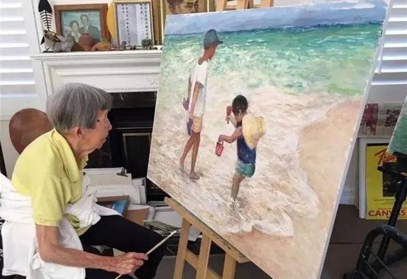 广州美术学院教授、女油画家徐坚白插图37