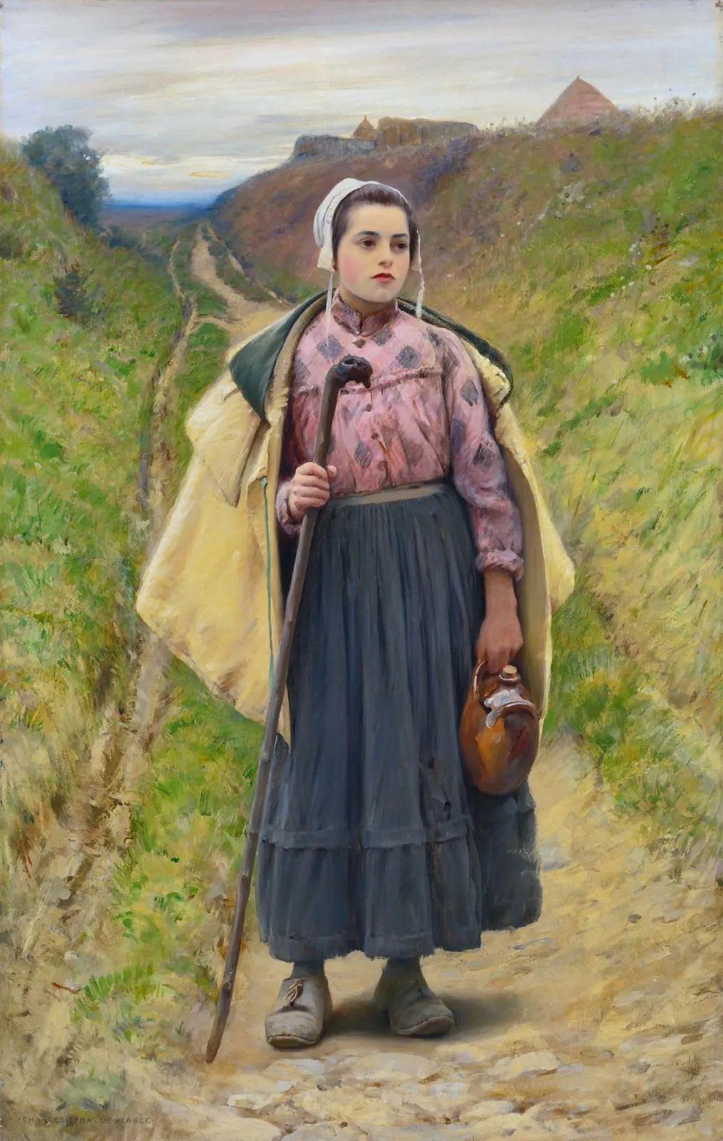 鲜活的法国乡村生活场景,迷人的村姑!插图17