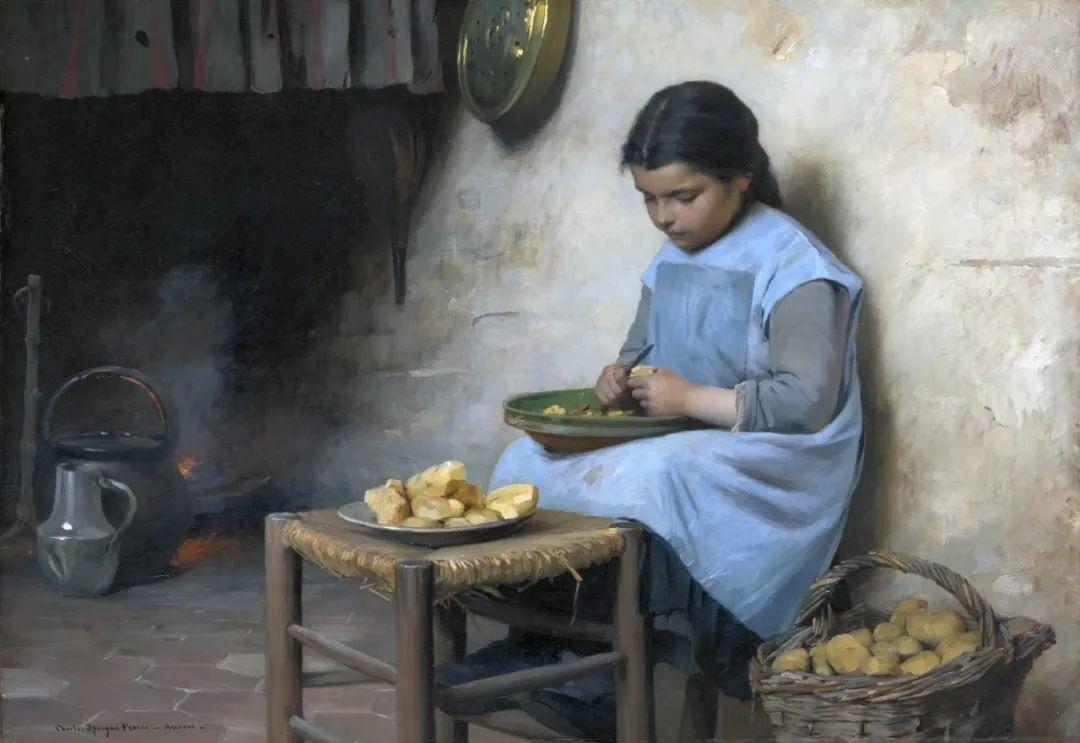 鲜活的法国乡村生活场景,迷人的村姑!插图25