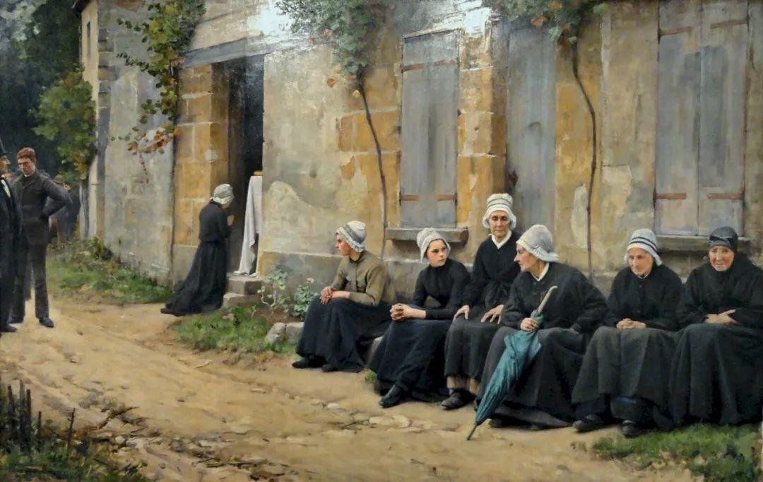 鲜活的法国乡村生活场景,迷人的村姑!插图35