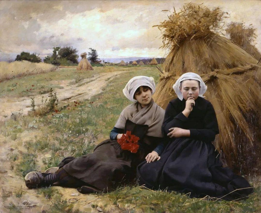 鲜活的法国乡村生活场景,迷人的村姑!插图37
