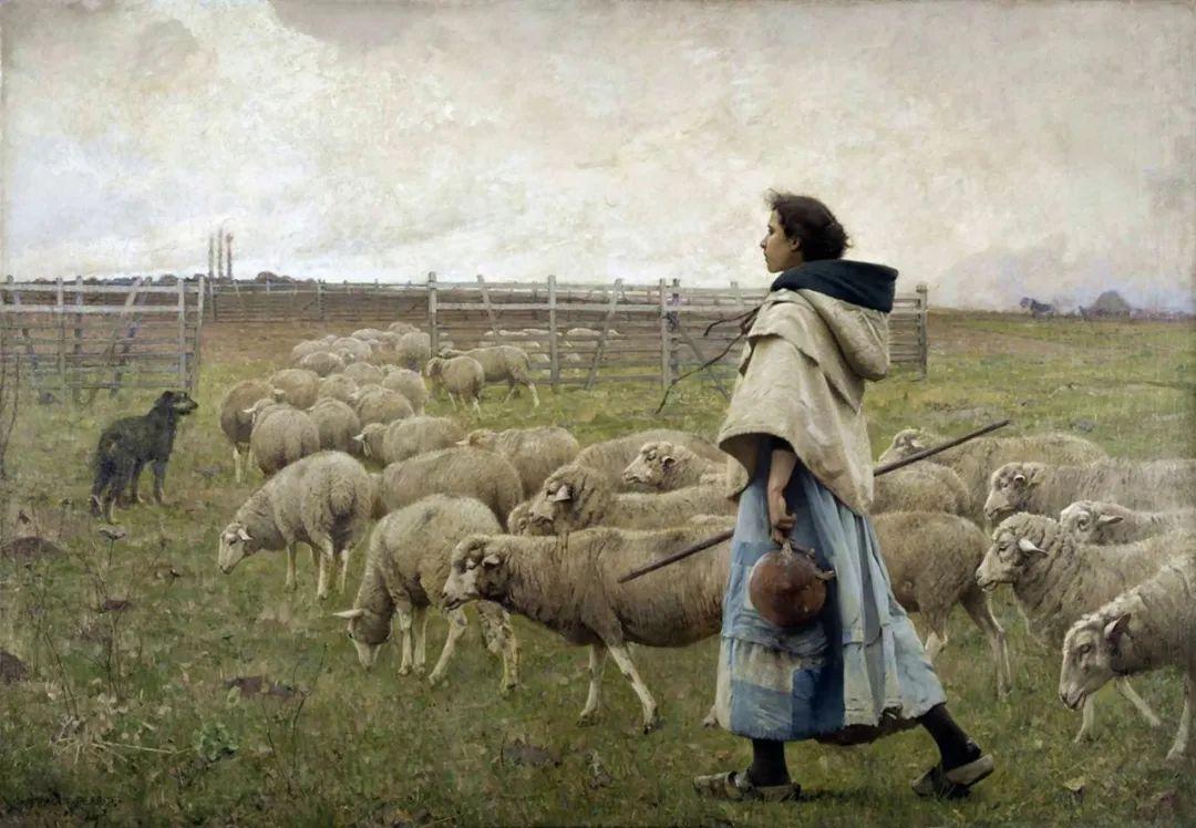 鲜活的法国乡村生活场景,迷人的村姑!插图39