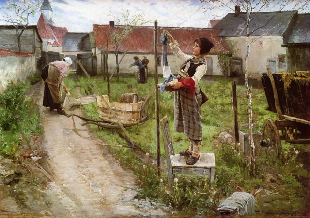 鲜活的法国乡村生活场景,迷人的村姑!插图43