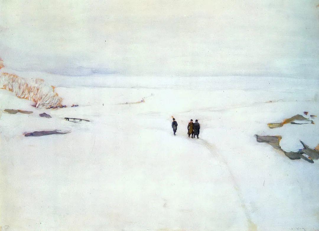列宁勋章获得者尤恩,笔下独具特色的风景!插图28